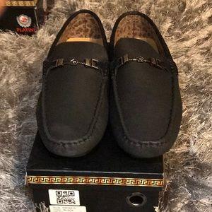 All black platini shoes